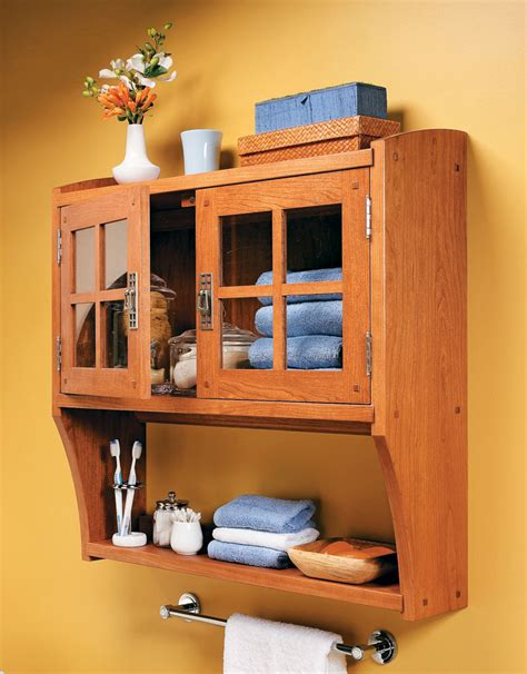 In Wall Storage Cabinet Plans