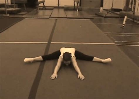 increasing hip flexor flexibility stretches for gymnasts leotard