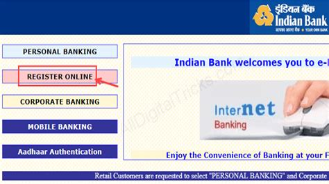 Indian Bank Credit Card Password Indianbank Internet Banking