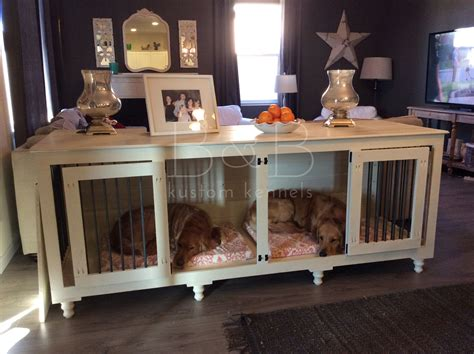 Ines Handmade Furniture-Style Pet Crate