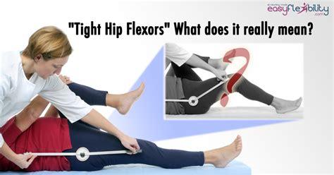 inflamed hip flexor muscles iliopsoas test