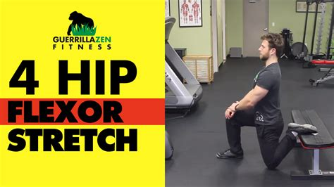 inflammation of the hip flexor muscles stretches for hip