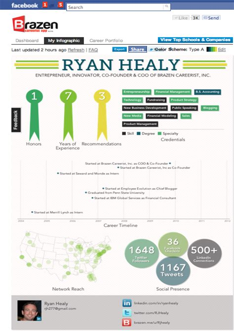 infographic resume builder online top 6 free best infographic resume creator techgydcom - Infographic Resume Builder
