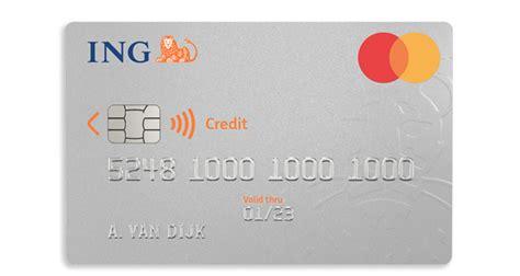 Ing Creditcard Kortingen Ing Creditcard Aanvragen Ing Betalen