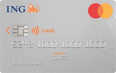 Ing Creditcard Kortingen Studenten Creditcard Aanvragen Ing Betalen