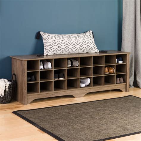 Ingham Shoe Cubby Storage Bench