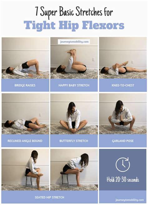 inner hip flexor exercises after hip injury diagnosis