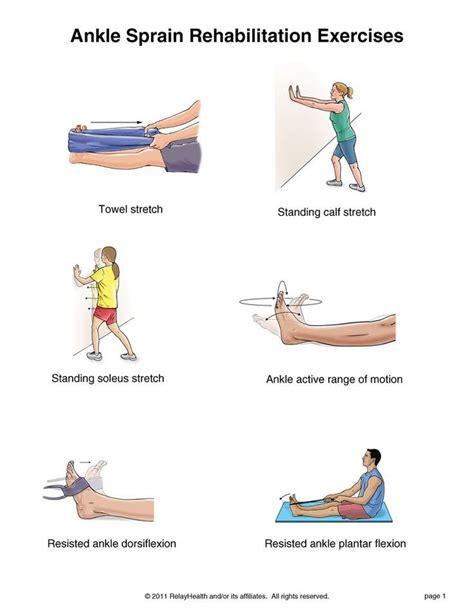 inner hip flexor exercises to strengthen ankles after a sprain