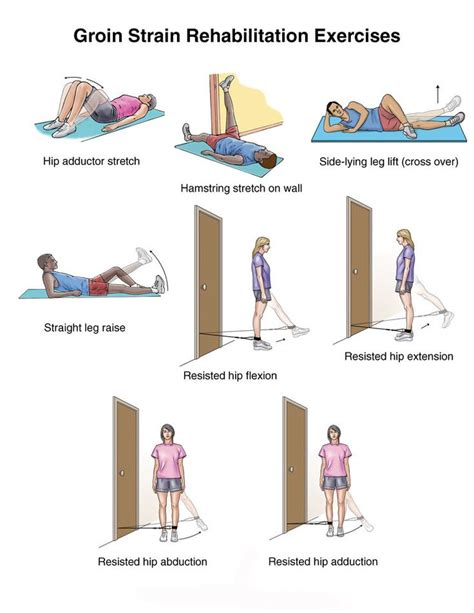 inner hip flexor injury exercises