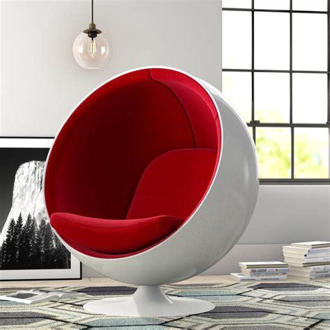 Inner Pony Swivel Balloon Chair