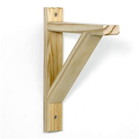 InPlace Bracket Wood Shelf