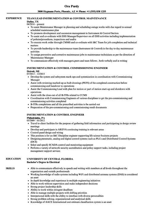 sample resume of instrumentation design engineer instrumentation engineer resume sample livecareer - Instrumentation Design Engineer Sample Resume