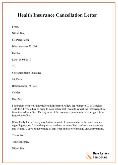 Cancellation of services letter resume for retail cashier job cancellation of services letter insurance sample cancellation letter spiritdancerdesigns Image collections