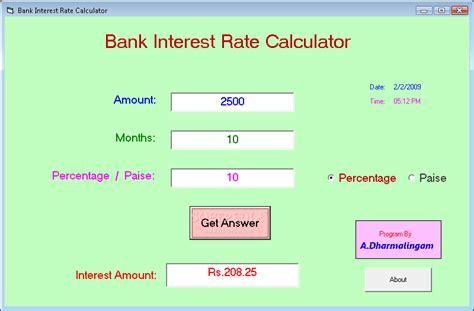 Credit Card Effective Interest Rate Calculator Interest Rate Calculator