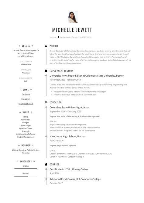 sample resume for internship in business   resume foreign language    sample resume for internship in business internship resume example sample
