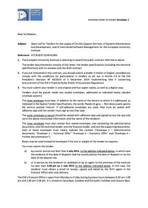 Invitation letter joint venture cv template european format invitation letter joint venture invitation letter to tender envelope 1 europea stopboris Gallery