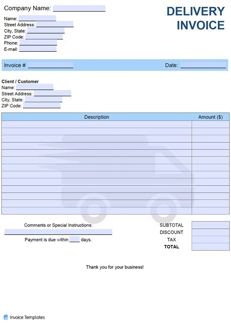 download invoice template nz gst | rabitah, Invoice templates