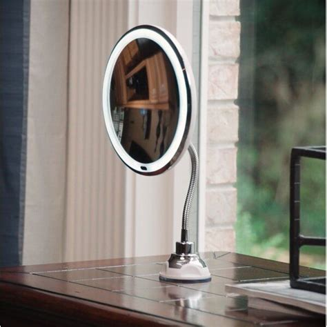 Iolanthe Flexible LED Lighted Makeup Mirror