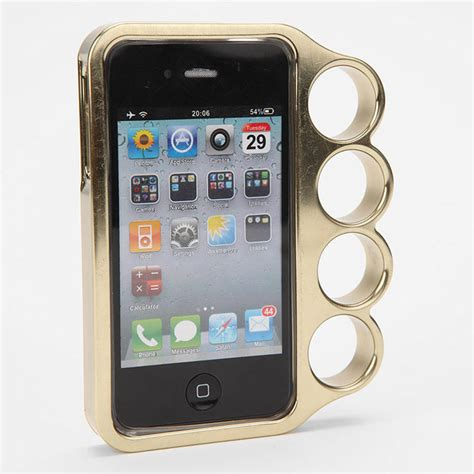 Brass Iphone 6s Brass Knuckles Case.