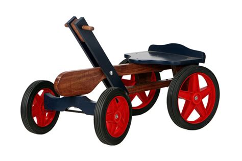 Irish Mail Handcar Woodworking Plan