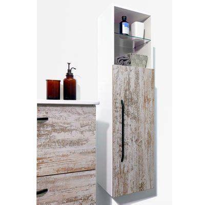 Irizarry Modern Bathroom Linen 12 W x 45 H Wall Mounted Cabinet