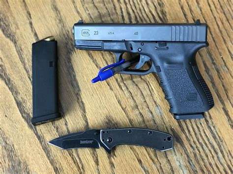 Glock-Question Is A Glock 23 Good For Concealed Carry.