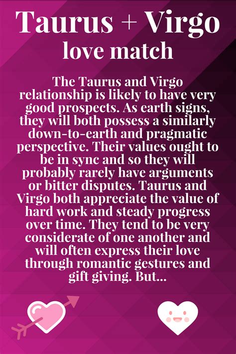 Taurus Perfect Match >> Review Taurus Question Is Virgo A Good Match With Taurus
