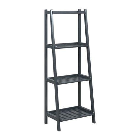 Isetta 4-Tier Ladder Bookcase