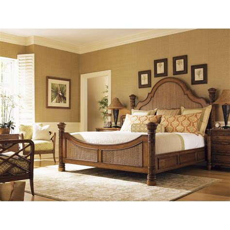 Island Estates Panel Bed by Tommy Bahama Home