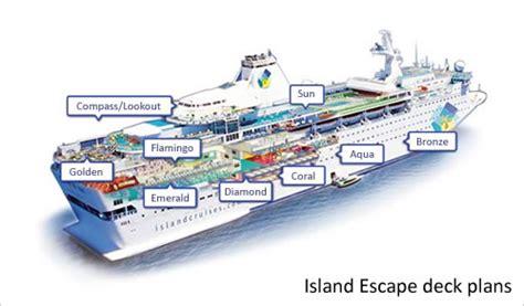 Island Escape Deck Plan