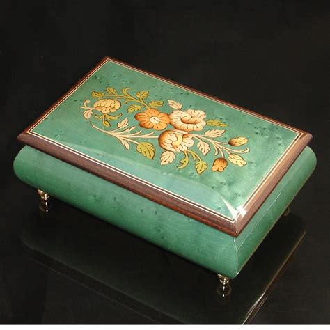 italian inlaid jewelry box