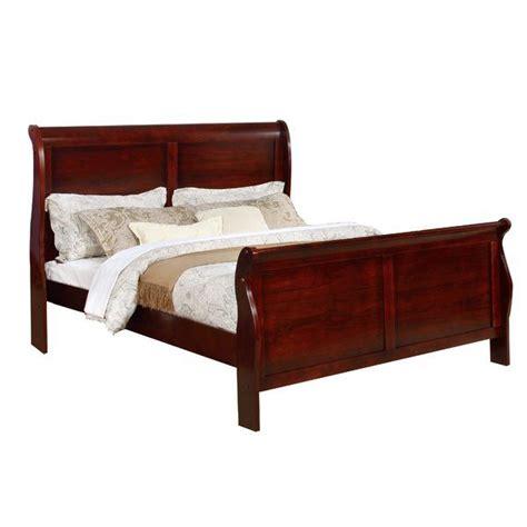 Ivywood Sleigh Bed