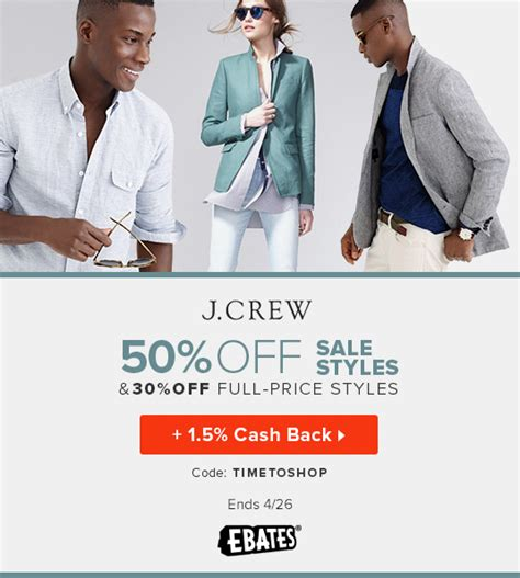 J Crew Credit Card Cash Back Offers Coupons