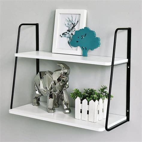 Ja 2-Tier Display Wall Shelf
