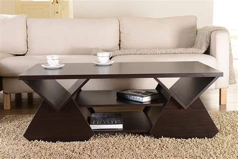 Jaeden Modern Coffee Table in Cappuccino