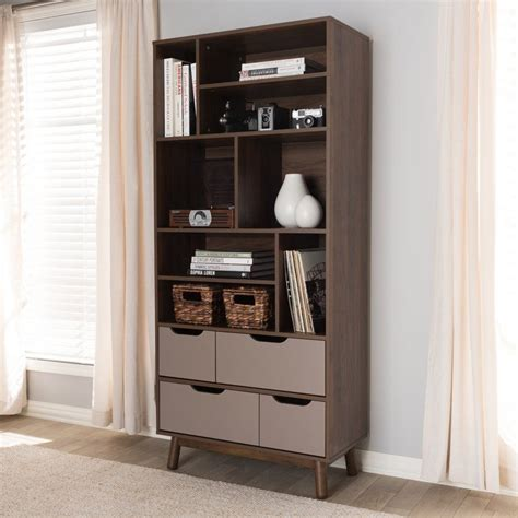 Jaelynn Wood Cube Unit Bookcase