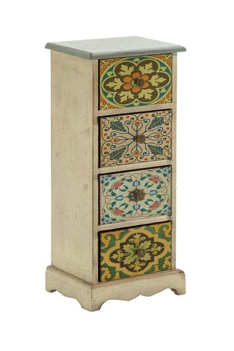 Janeen 4 Drawer Exclusive Canvas Table Chest