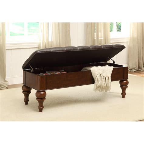 Janicki Fabric Storage Bench
