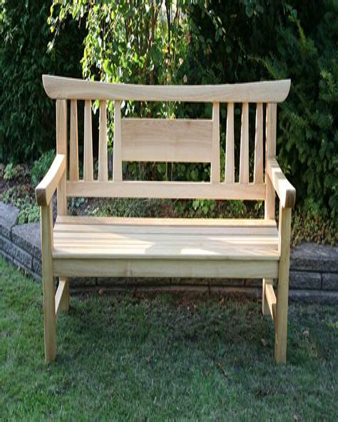Japanese Garden Bench Plans Free