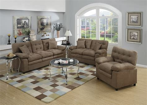 Jasmin 3 Piece Living Room Set
