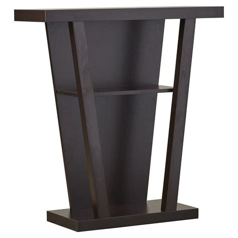 Jayne Console Table in Red Cocoa