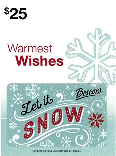 Jcpenney Credit Card Online Payment Amazon Boscovs Holiday Gift Card 25 Gift Cards