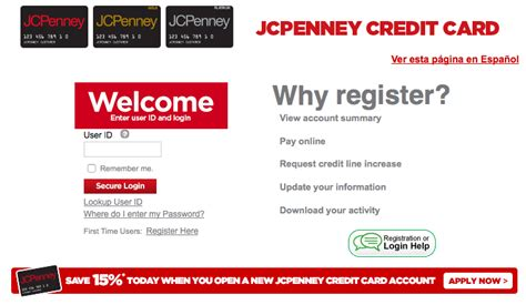 Sears Credit Card Apr Rate Jcpenny Credit Card How To Login And Make Payment