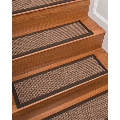 Jeanette Accent Rug Natural Stair Tread (Set of 4)