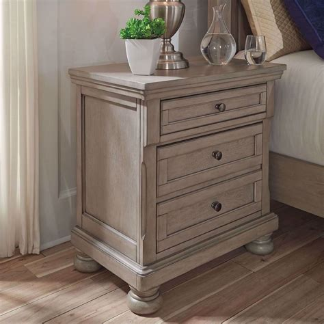 Jerold 2 Drawer Nightstand