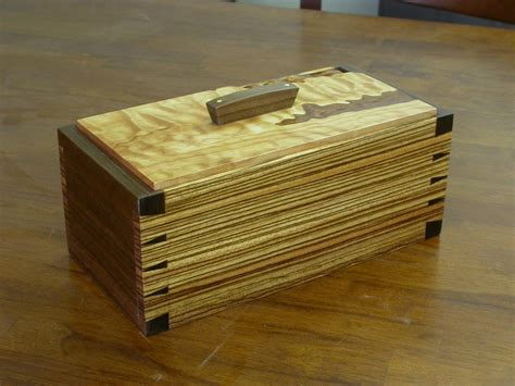 jewelry boxes for men with zebra wood