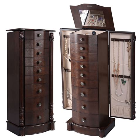jewelry storage cabinet uk