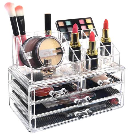 Jewelry and Cosmetics Organizer 2 Piece Set