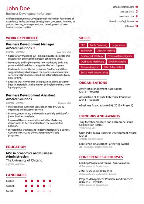 job achievements resume sample best resume examples for your job search livecareer - Professional Accomplishments Resume Examples