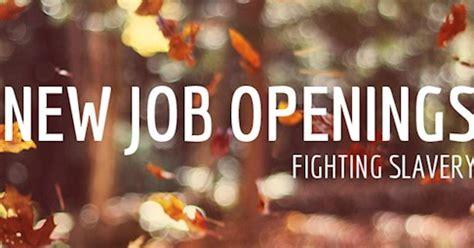 Corporate Lawyer Job Openings Job Openings Fighting Slavery End Slavery Now